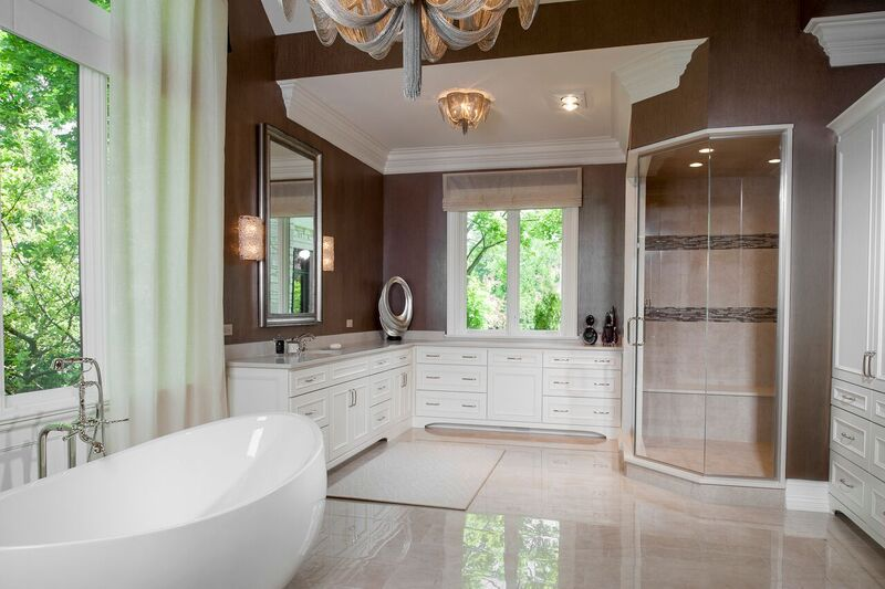 Master Bathroom, View 2