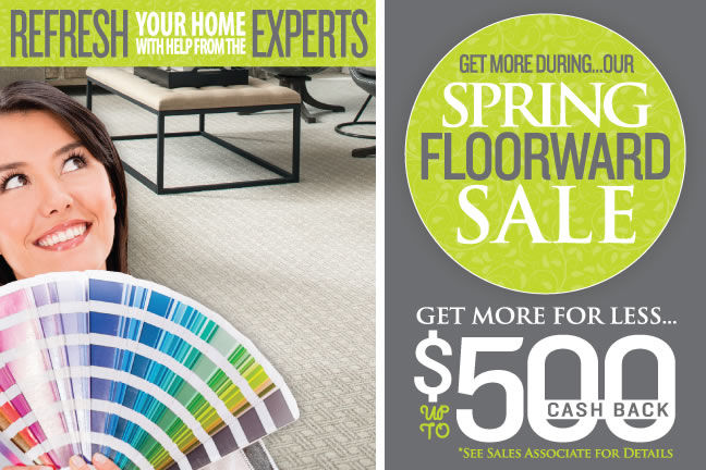 Get More During Our Spring Floorward Sale
