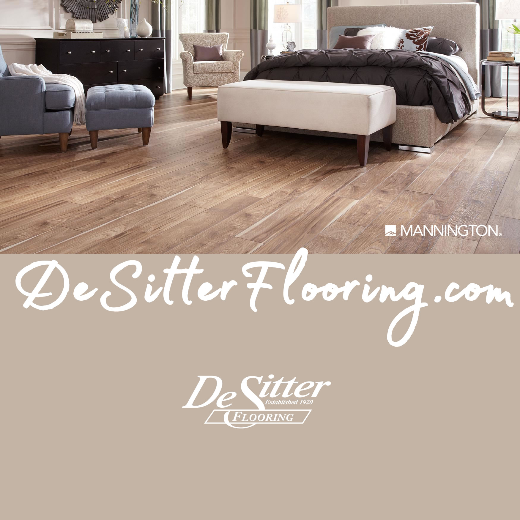 Mannington flooring products from desitter