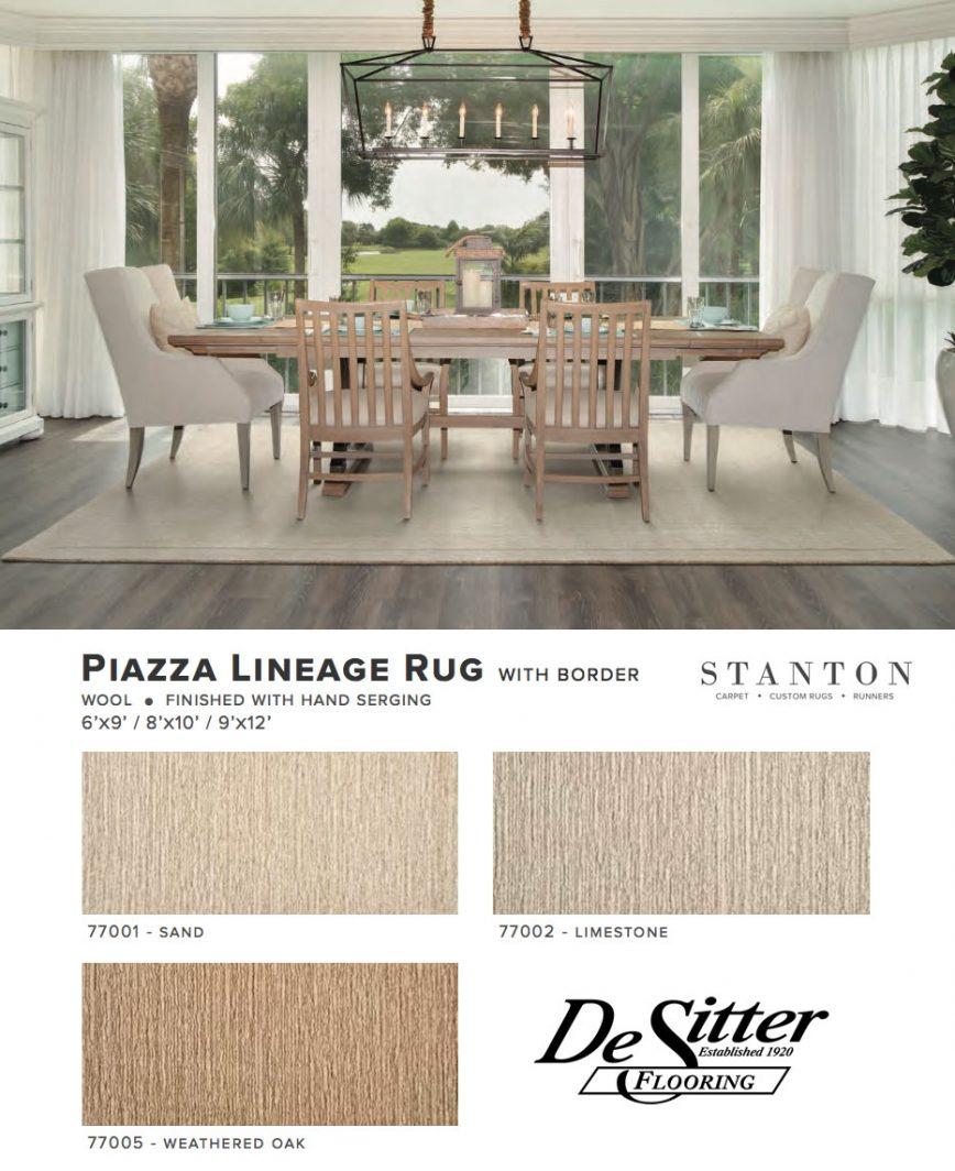 Desitter flooring stanton piazza lineage rug dailygadgetfo Images